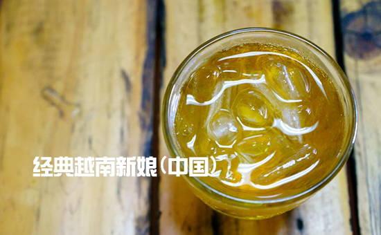 神秘的越南冰茶