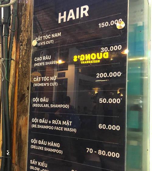 越南理发店的正经事:洗头顺便洗脸只要22元