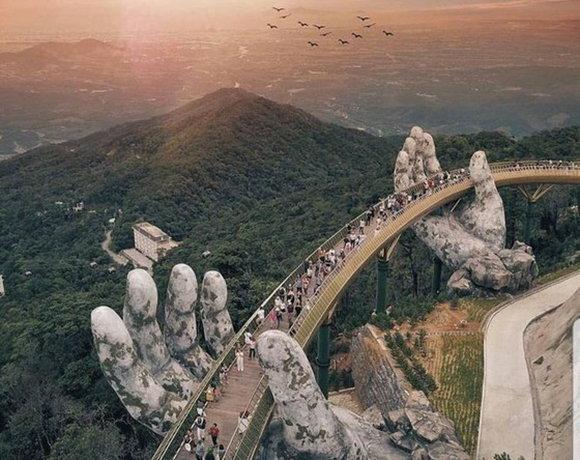 越南有哪些獨特的橋樑?黃金橋